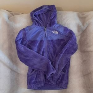 Girls The North Face Hooded Fleece M